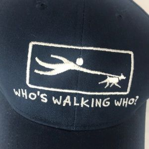 Who's walking who hat